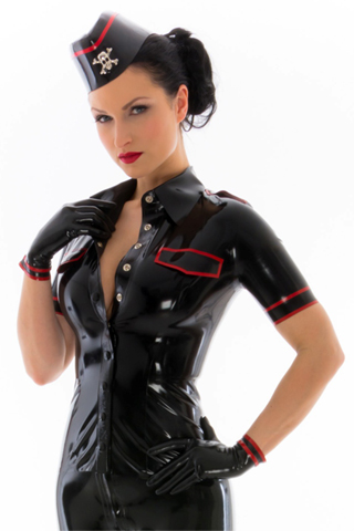 Breathless Women S Latex Rubber Uniforms